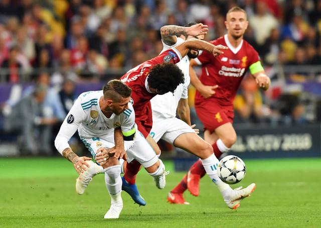 Serhio Ramos, Mohamed Salah