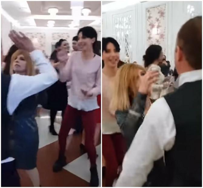 Snimak sa svadbe svi gledaju