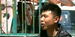 Nastolatek uratował 14 osób. Wołali o pomoc z płonącego budynku. FILM
