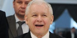 Jarosław Kaczyński opowiada kawał!