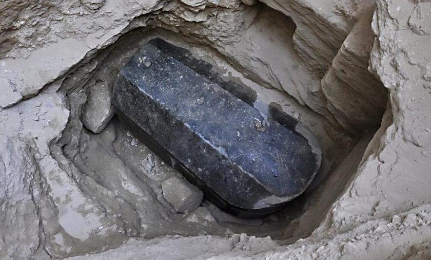 Myśleli, że to sarkofag Aleksandra Wielkiego. Kiedy zajrzeli do środka, nie kryli zaskoczenia