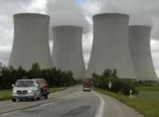 Elektrownia atomowa w Temelinie, południowe Czechy, należąca do CEZ.