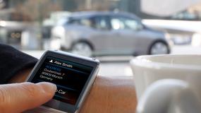 Samochody sterowane zegarkiem – nie tylko premium