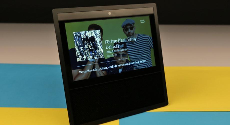 Amazon Echo Show im Test: Alexa mit Bildschirm