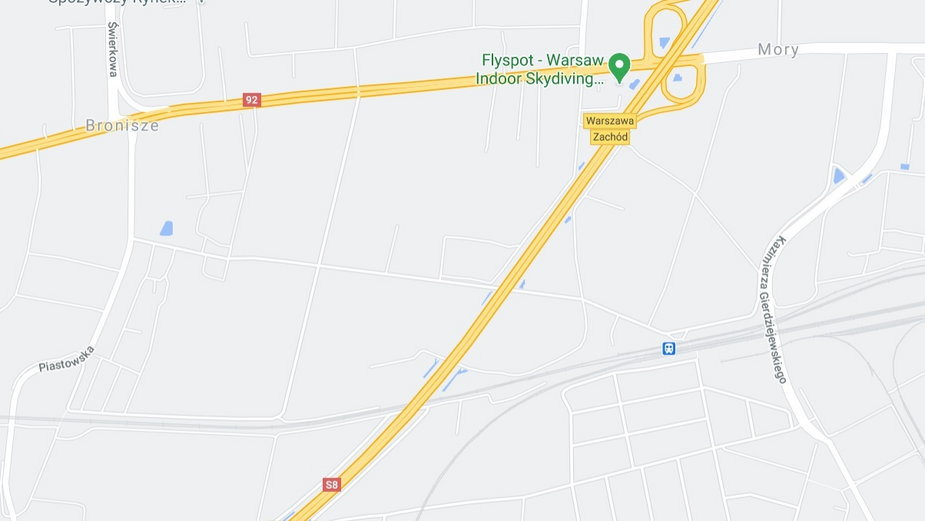 Pożar samochodu ciężarowego na S8. Droga na odcinku Warszawa Zachód – Konotopa jest zablokowana
