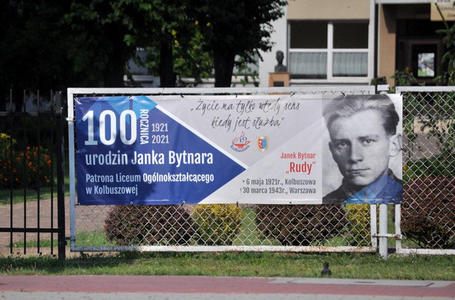 Janek Bytnar jest patronem liceum w Kolbuszowej.