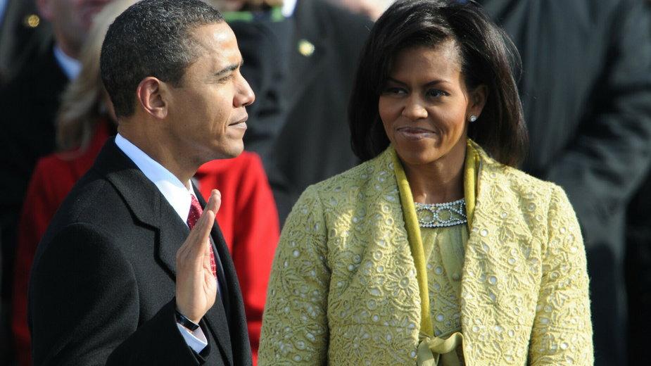 Zaprzysiężenie Baracka Obamy w 2009 r.