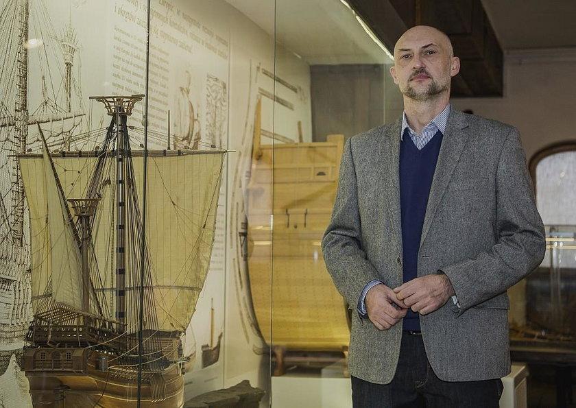 Robert Domżał, dyrektor Narodowego Muzeum Morskiego w Gdańsku