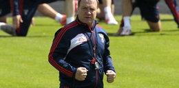 Trener Rosjan nie słucha wrzutek Muchy