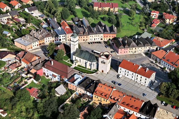 Spiska Sobota - Rynek Spiskiej Soboty