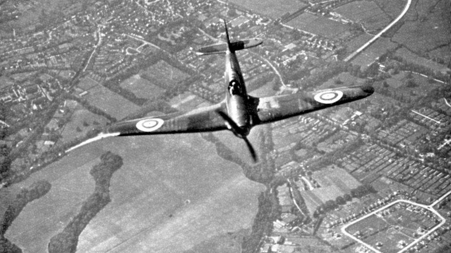 Bitwa o Angilę, myśliwiec Hurricane