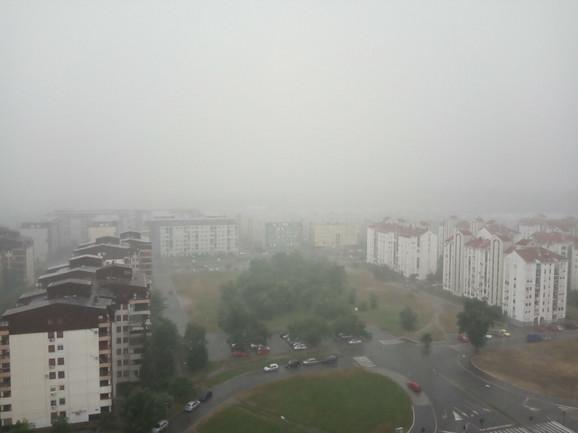 Nevreme na Novom Beogradu
