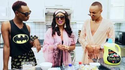 Fresh Fri speaks out after Anita Nderu hosted gays on her cooking show