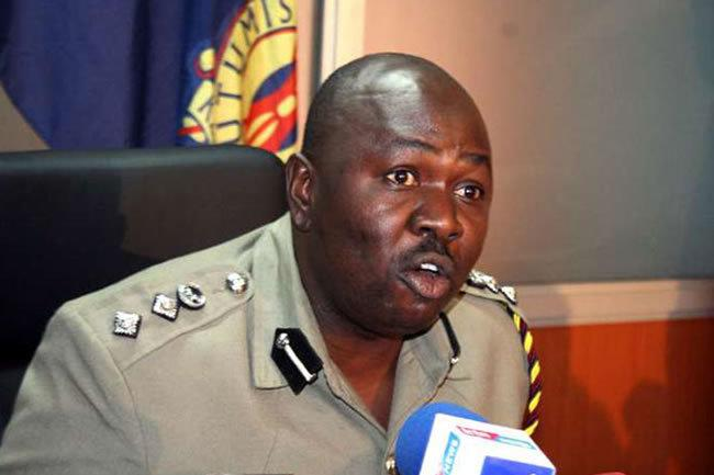 Police spokesperson Charles Owino during a past media briefing