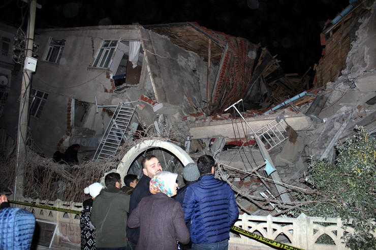 Turska zemljotres