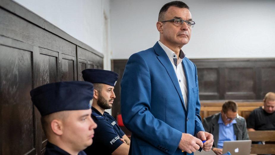 Grzegorz Łuczak w sądzie