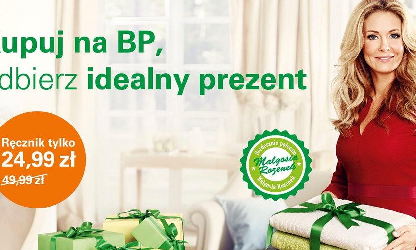 Małgorzata Rozenek reklamuje stacje benzynowe BP