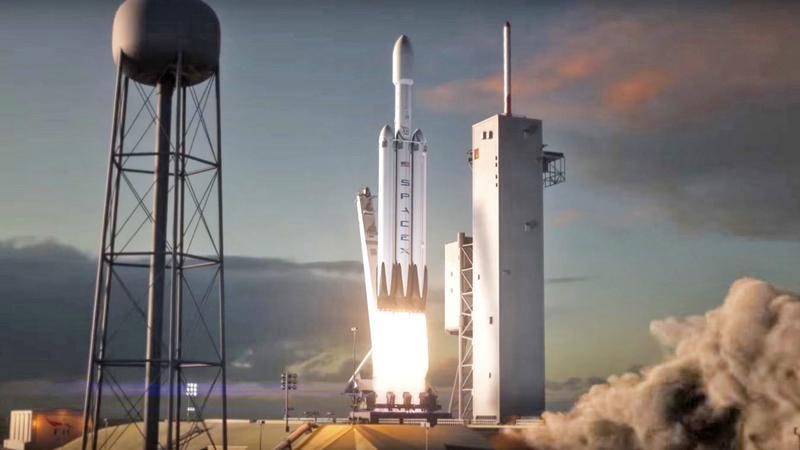 Pierwszy lot Falcon Heavy zaplanowany na wrzesień