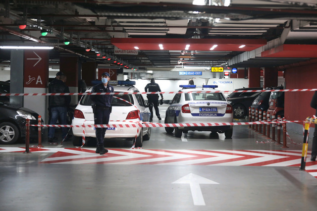 Ušće Novi Beograd pucnjava