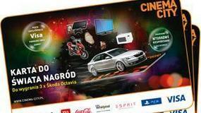 Kup bilet do Cinema City i odbierz kartę do świata pełnego nagród