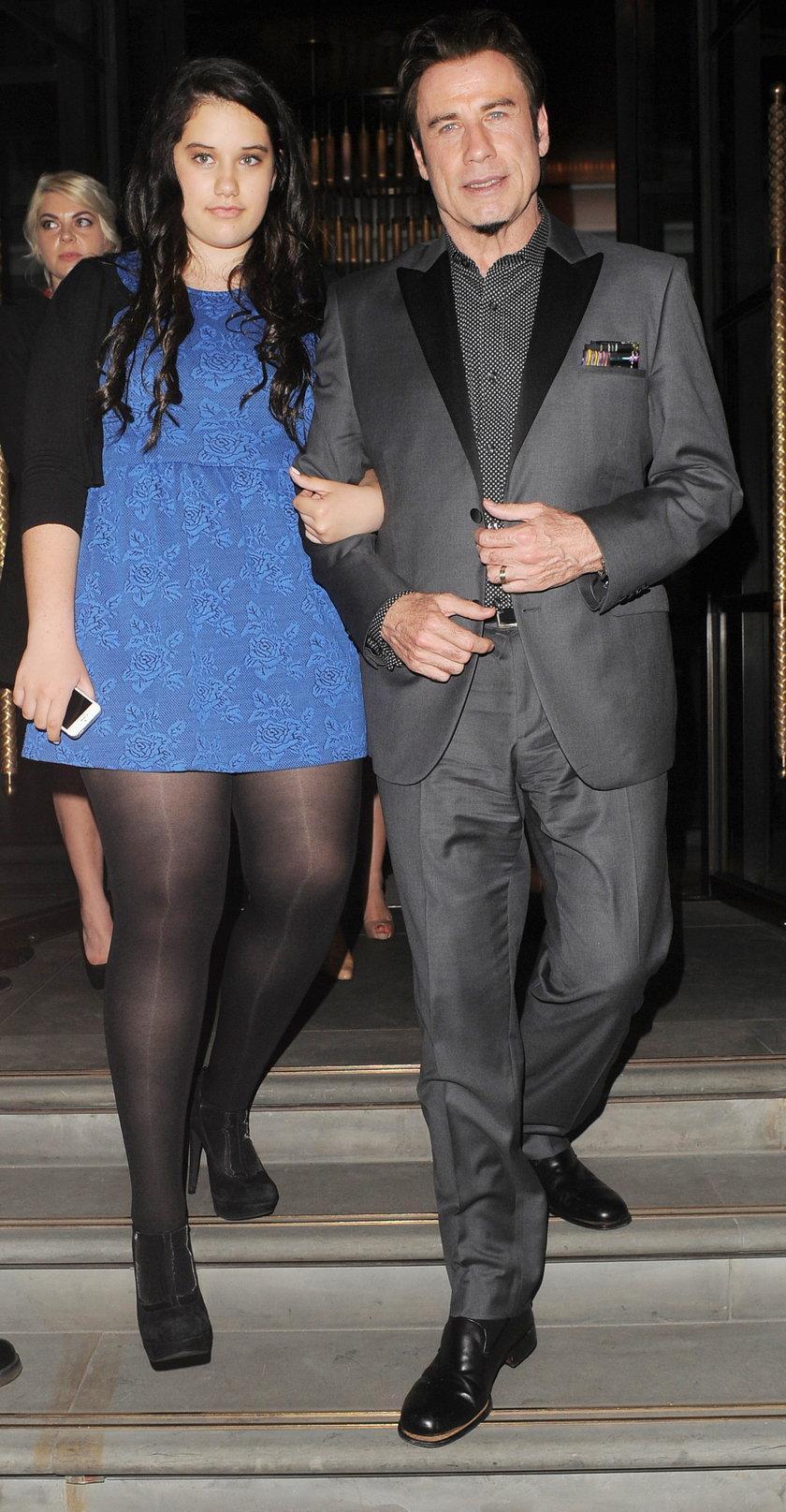 John Travolta i Ella Blue