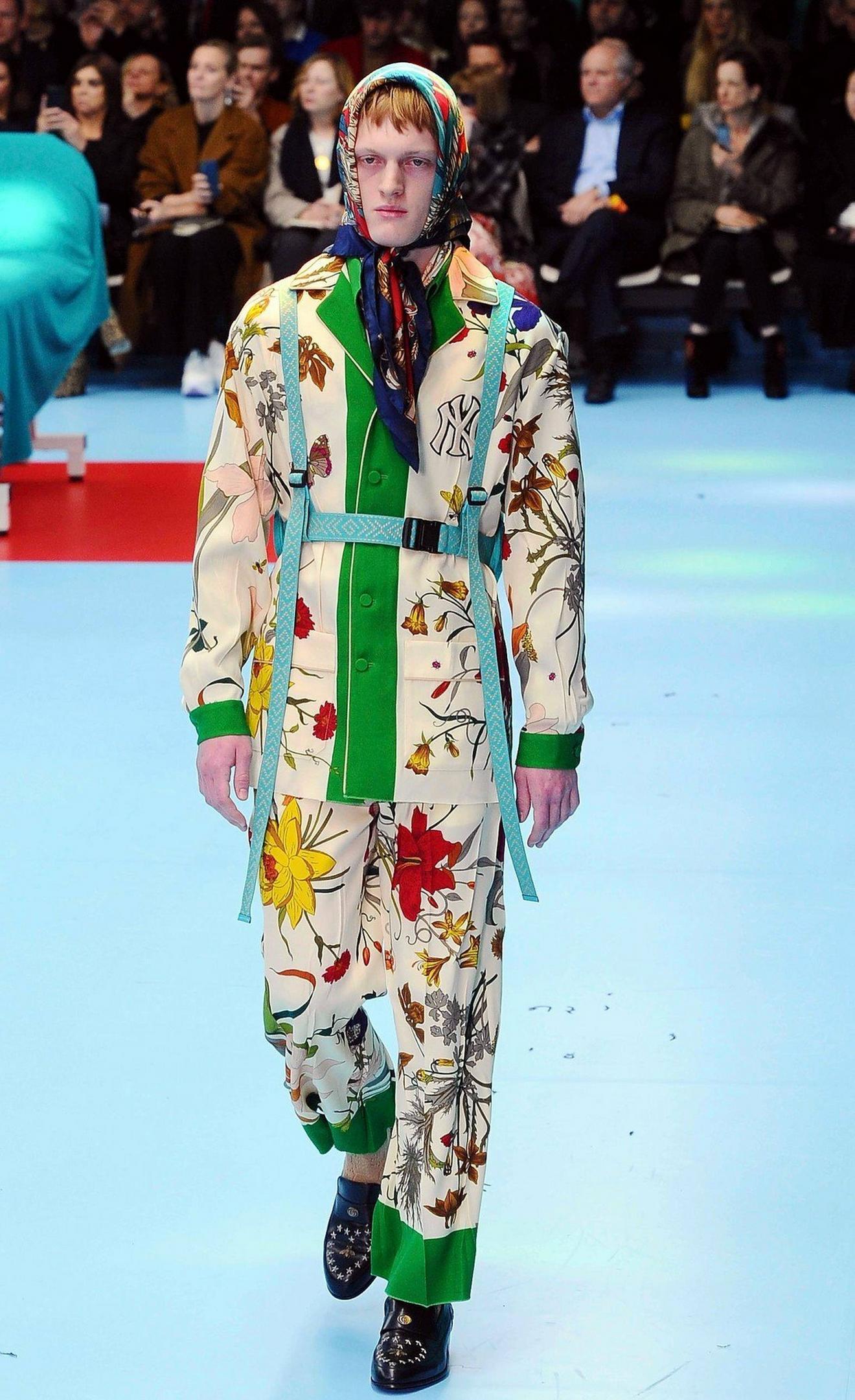 Detalji sa Gucci revije u okviru Nedelje mode u Milanu