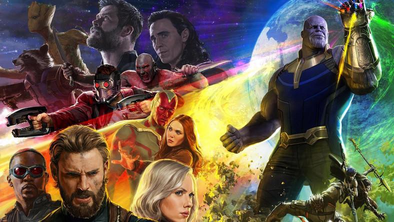 Avengers Infinity War Bohaterowie Filmu Na Plakacie Film