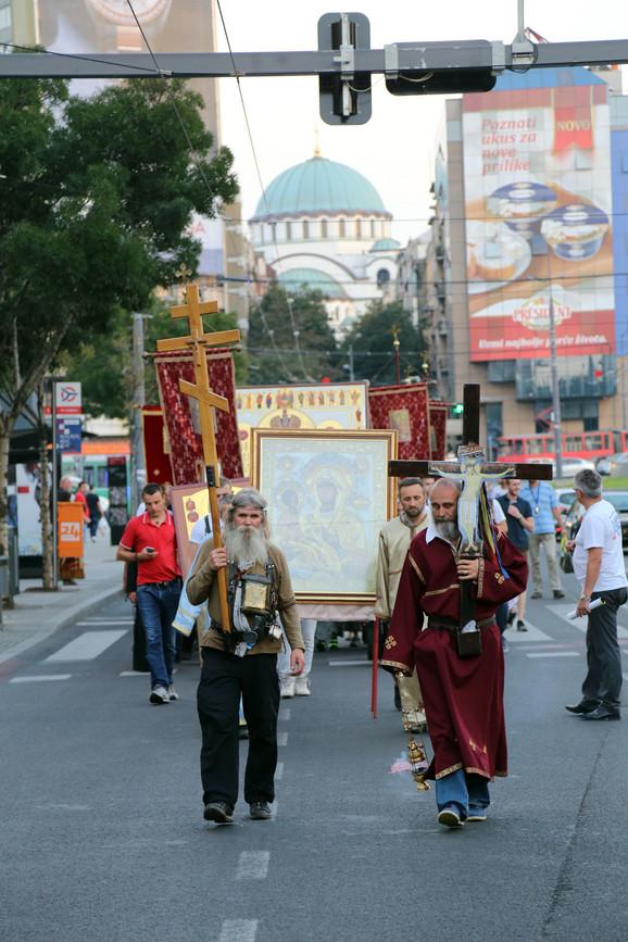Blokirana Ulica kralja Milana