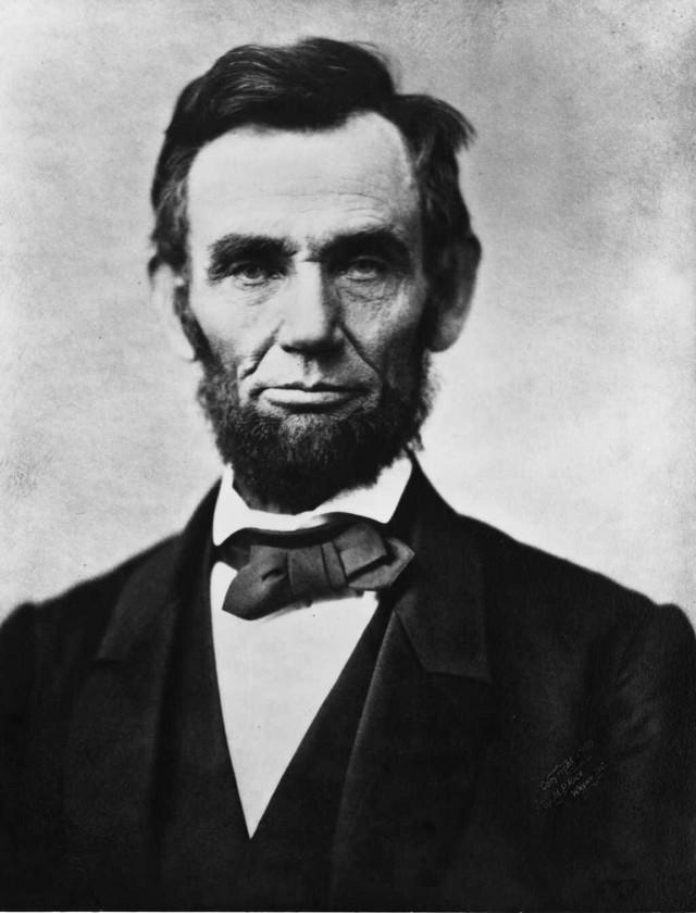 Abraham Linkoln sa čuvenom bradom