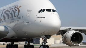 Największy samolot pasażerski świata wylądował w Warszawie
