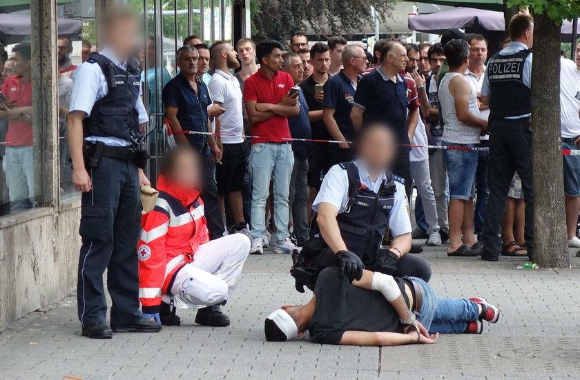 Atak maczetą w Reutlingen w Niemczech