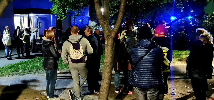 Tajemnicze drgania przyczyną ewakuacji bloku. Czy winny jest raper Mata?