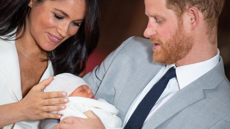 Meghan, Harry i royal baby