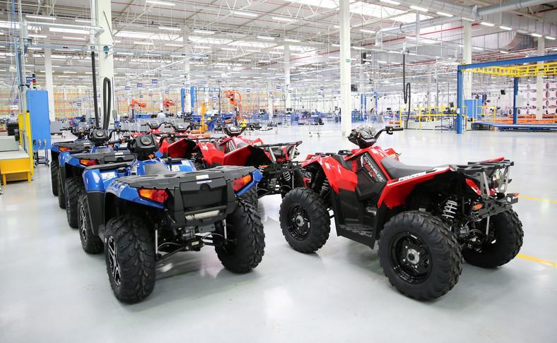 Zakład w Opolu to pierwsza w Europie fabryka Polaris Industries