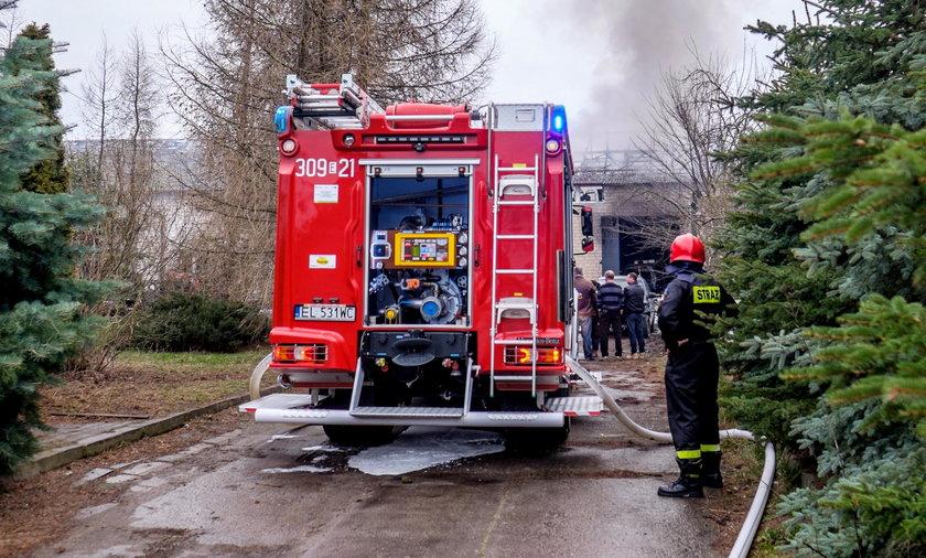 Wielki pożar w Raciborzu!