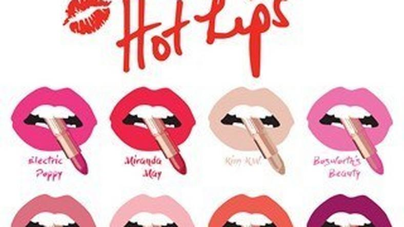 Charlotte Tilbury 'Hot Lips' Collection