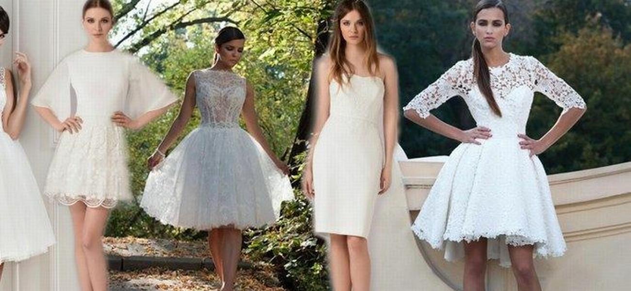 469d753bf6 ofeminin. © ofeminin. © ofeminin. Słyszysz  krótkie suknie ślubne ...