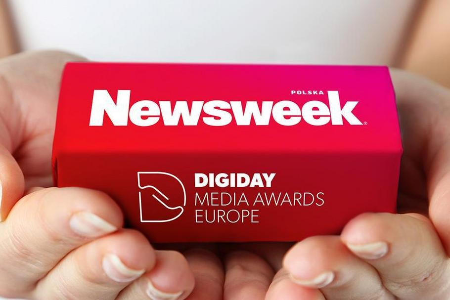 Nagroda Digiday Media Awards Europe dla newsweeka.pl