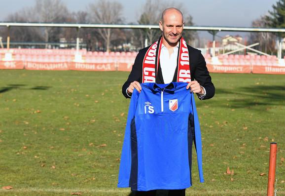Novi trener Voše: Ilija Stolica