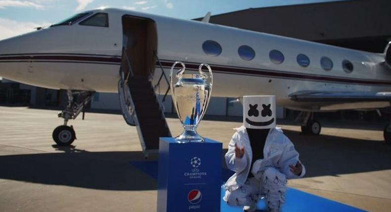 Pepsi is delivering the Best of Music and Football at the UEFA Champions League Final