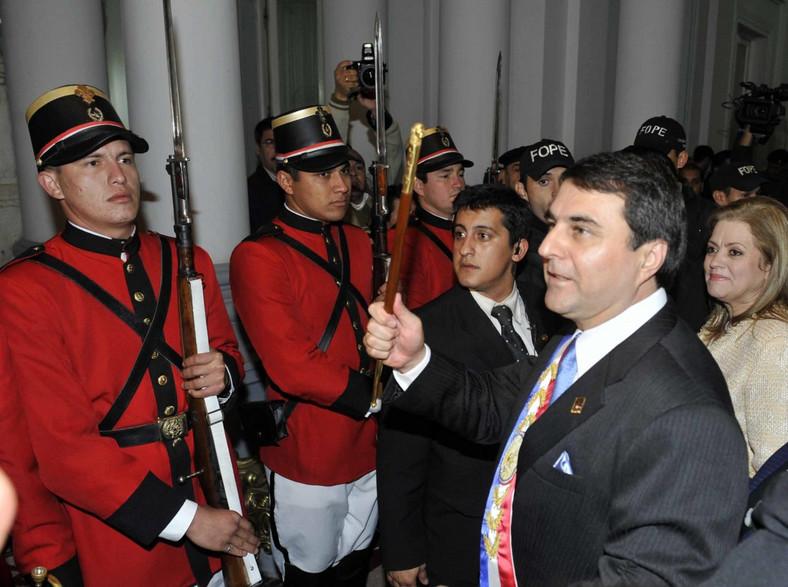 Nowy prezydent Paragwaju Frederico Franco - były wiceprezydent i przeciwnik Fernando Lugo