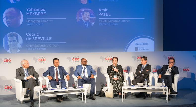 Panel session on Family Business at the Africa CEO Forum 2019