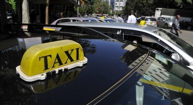 File image of a taxi car