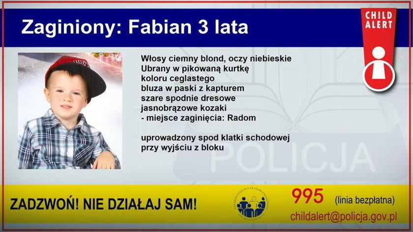 Nie wiadomo wciąż, gdzie przebywa Fabian