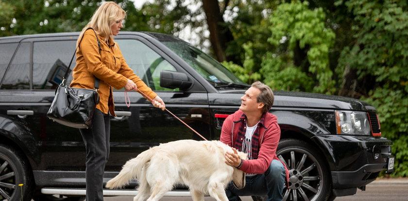 """Agata w """"M jak miłość"""" straci dla tego przystojniaka głowę? Wszystko przez psa!"""
