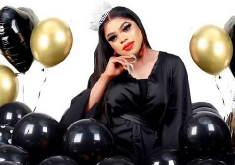 Idris Okuneye aka Bobrisky had scheduled her 28th birthday party to hold at Gardens in Lekki Phase 1 and Paradise Boat Club, Victoria Island.[Instagram/bobrisky222]