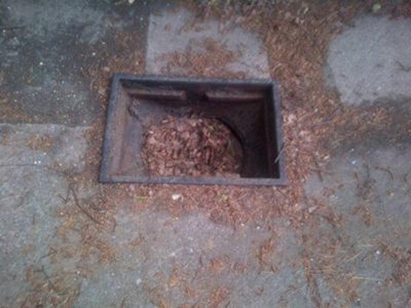 Złomiarz z Chodzieży ukradł 100 kg żeliwnych kratek