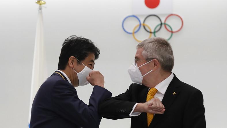 Thomas Bach i Shinzo Abe
