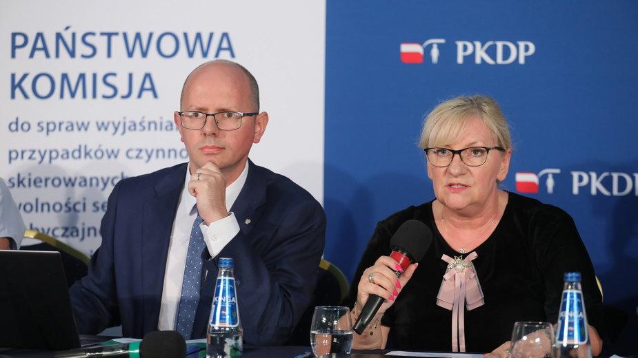 Konferencja prasowa Państwowej Komisji ds. Pedofilii