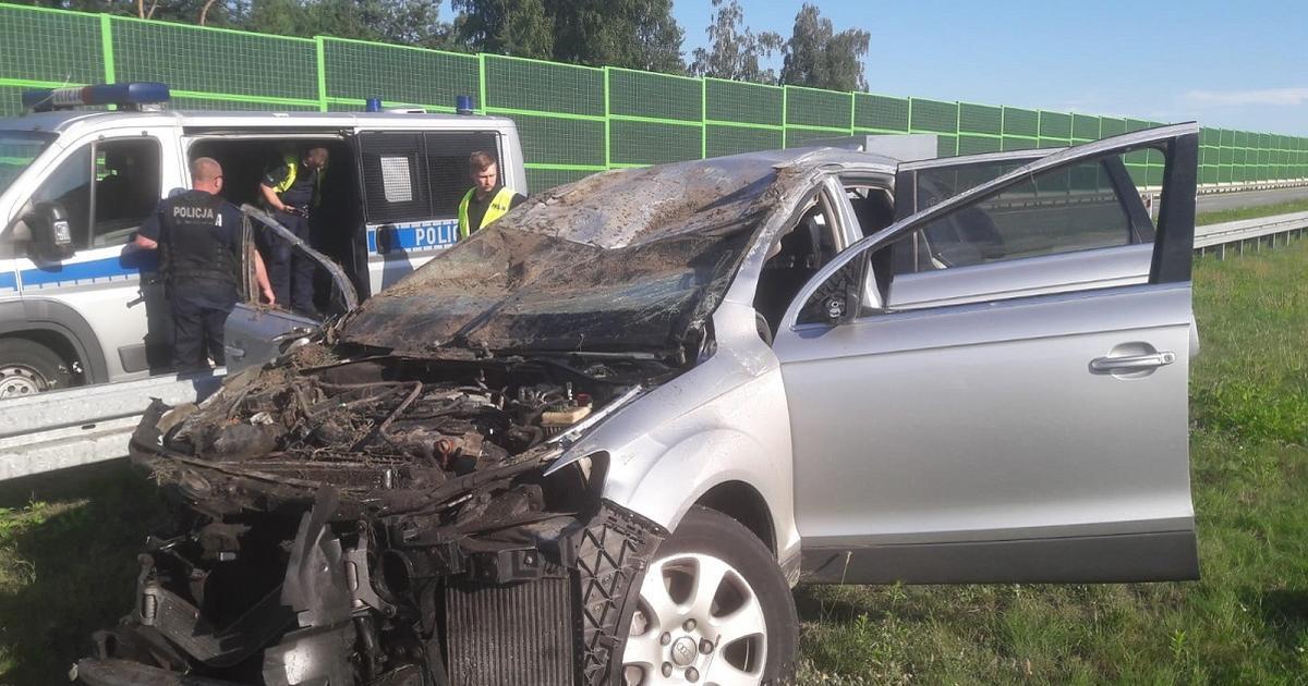 Śmiertelny wypadek na A1, osoby z Audi uciekły